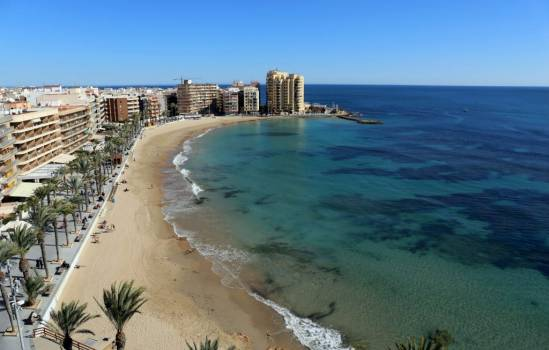 ​Torrevieja has the most accessible beaches in the Valencian Community