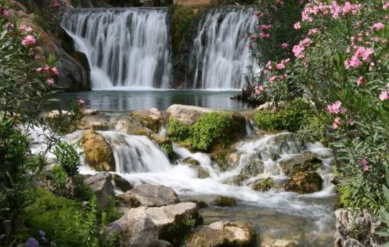 A trip to the impressive Algar Waterfalls, Costa Blanca, Spain