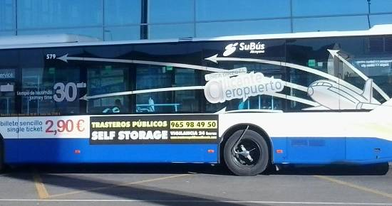 New transport service connects Alicante airport with Orihuela Costa
