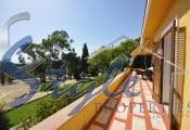 Villa with large plot for sale in La Marina, Costa Blanca - terrace