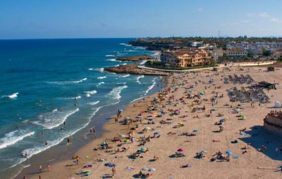 ​Welcome to La Zenia beach, Orihuela Costa, Costa Blanca, Spain!