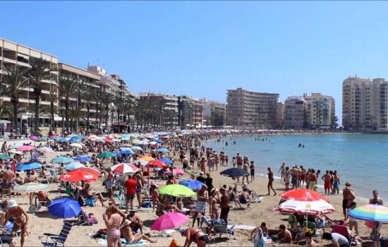 ​The best beaches in Torrevieja, Costa Blanca South, Spain