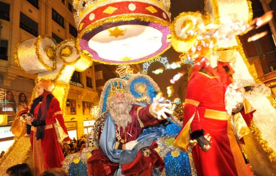 The Three Kings arrive in Orihuela Costa and Torrevieja