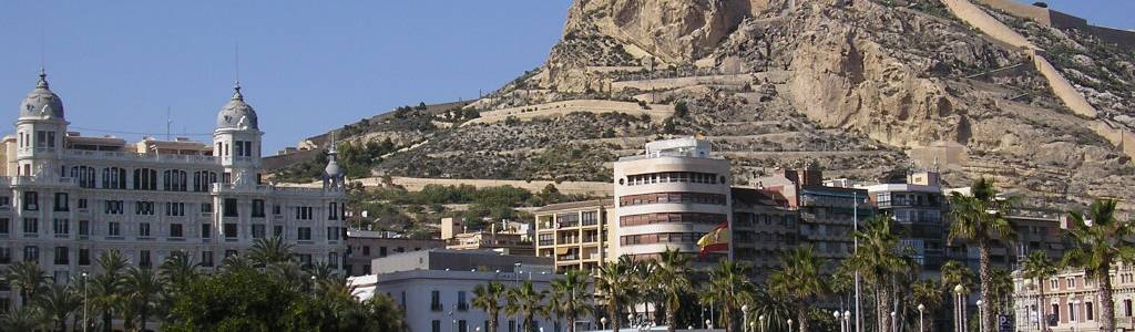 A visit to the Castle of Santa Bárbara in Alicante