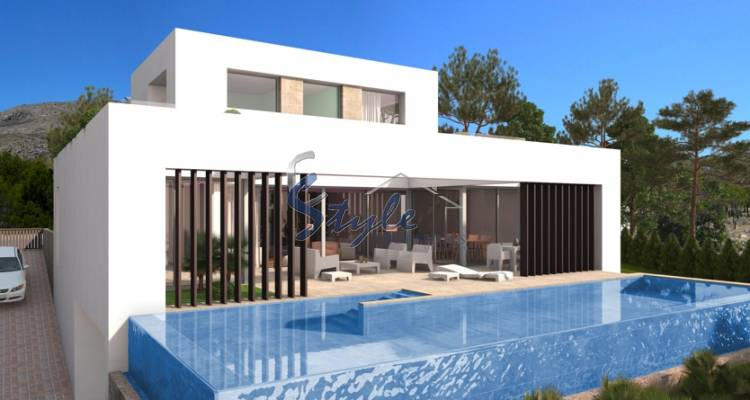 Luxury villa for sale in Finestrat, Costa Blanca, Spain ON424-1
