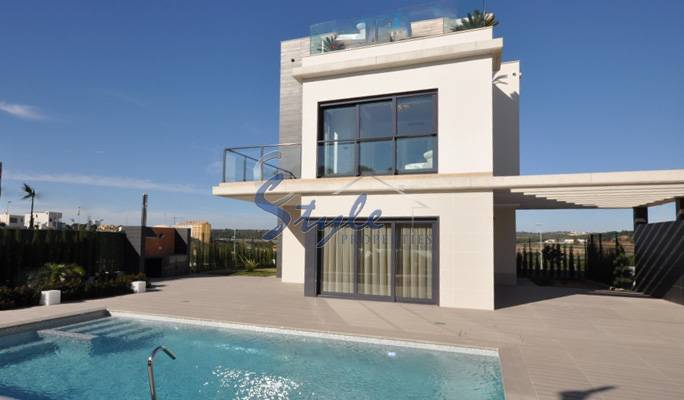 New build villa in Campoamor, Alicante, Spain