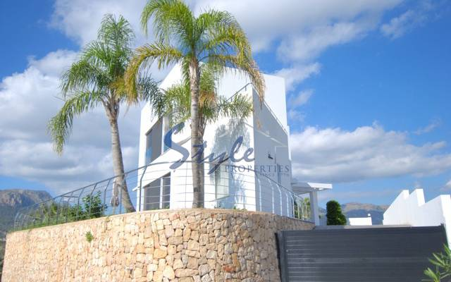 Luxury villa with private pool for sale in Calpe, Spain 436-1