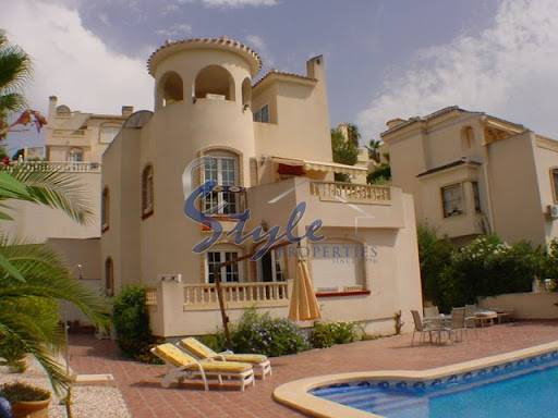 Villa with private pool for sale in Las Ramblas, Costa Blanca, Spain 509-1