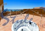 Luxury penthouse with Panoramic Views for sale in Punta Prima, Costa Blanca - solarium