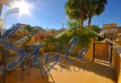 Townhouse for sale in Punta Prima, Costa Blanca- Back terrace