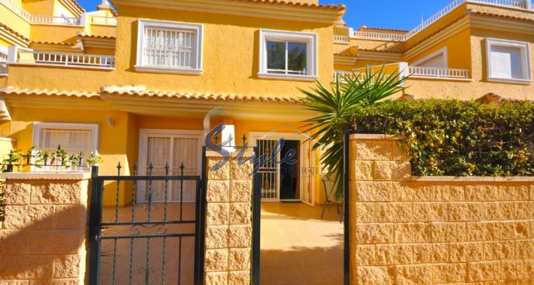 Townhouse for sale in Punta Prima, Costa Blanca- Back
