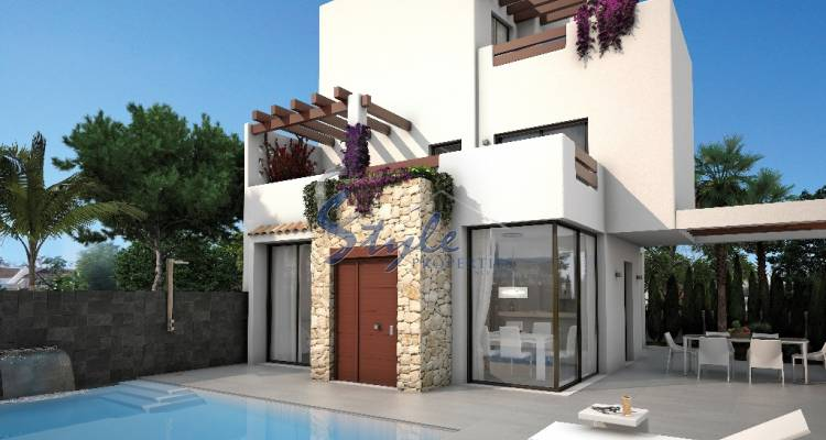 new build villa for sale in Ciudad Quesada, Guardamar del Segura, Alicante,  Costa Blanca, Spain