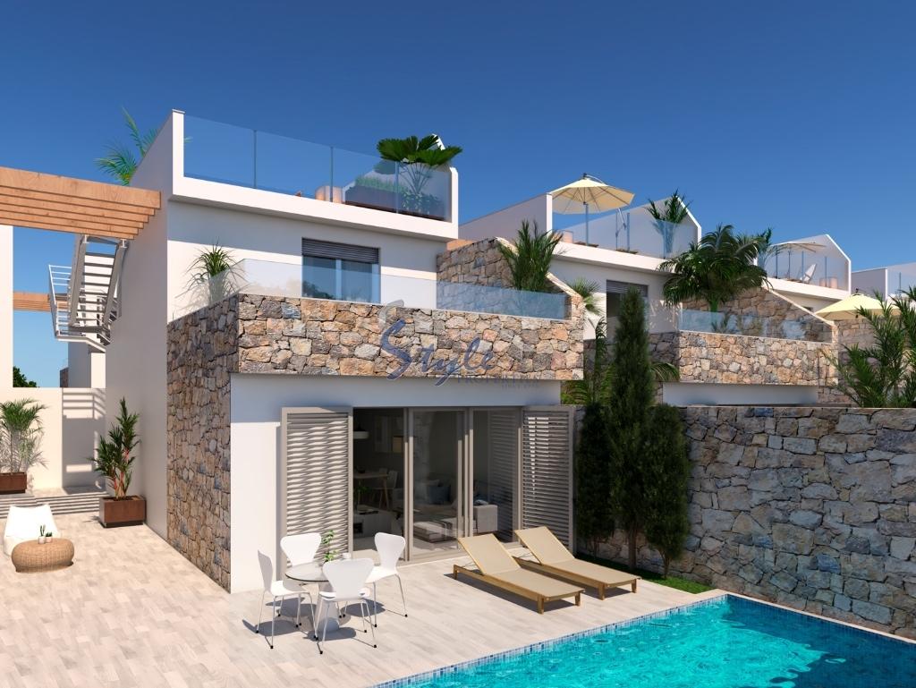 New build villas in los alcazares murcia spain for Piscina los alcazares