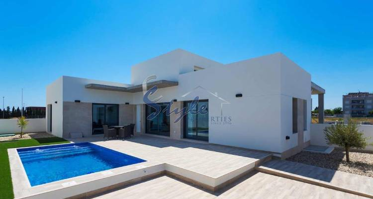 New Build villa in Daya Nueva, Costa Blanca, Spain
