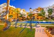 Apartments for sale in gated urbanization on the seafront in Torrevieja, Costa Blanca, Spain