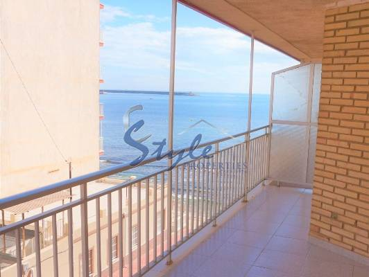 Apartments on the seafront with panoramic views in Torrevieja, Alicante, Costa Blanca, Spain