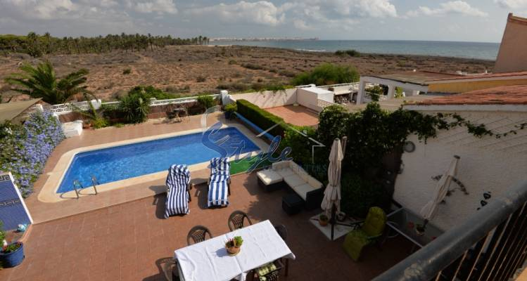 House for sale with sea views in Punta Prima, Orihuela Costa, Costa Blanca, Spain