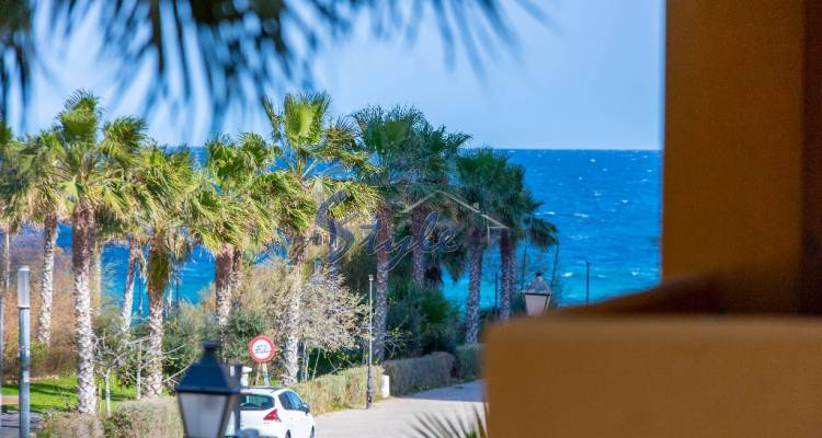 Apartment with sea views in Punta Prima, Orihuela Costa, Costa Blanca, Spain