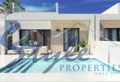 Buy new build bungalow with private pool in Alicante, Costa Blanc,Spain