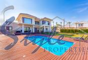 Exclusive villa close to sea with sea views in La Mata, Alicante, Costa Blanca, Spain
