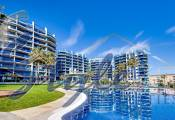 Apartment with panoramic sea views on the beachfront for sale in Sea Senses, Punta Prima, Orihuela Costa, Costa Blanca, Spain