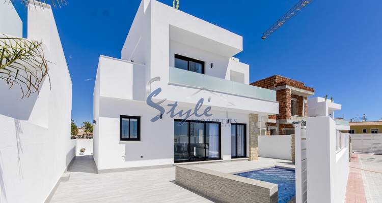 New build villa for sale in Los Montesinos, Alicante, Costa Blanca