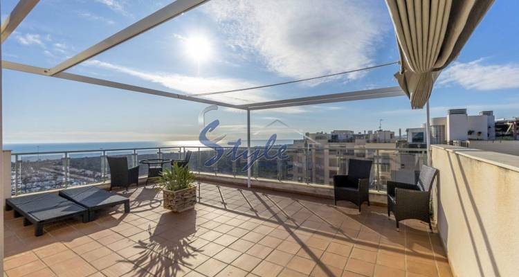 Penthouse for sale with views of the sea and the river near the marina in Guardamar del Segura