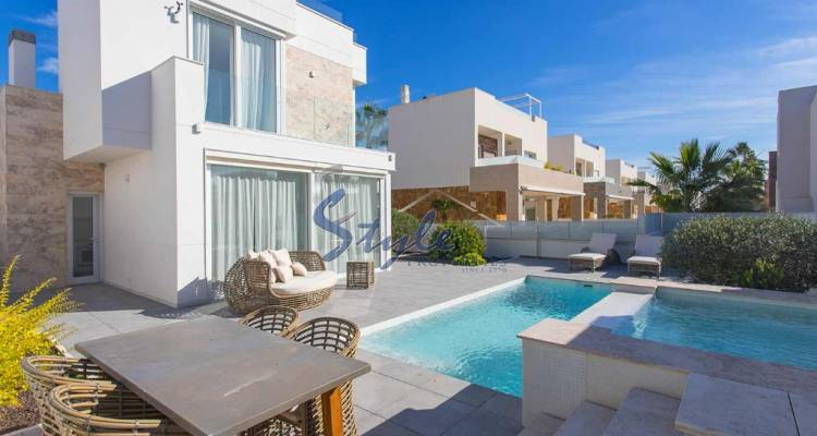 New Villas for sale with private pool in La Mata, Torrevieja, Alicante, Costa Blanca, Spain