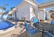 Terraced house with private pool and garage for sale in Playa Flamenca, Orihuela Costa.